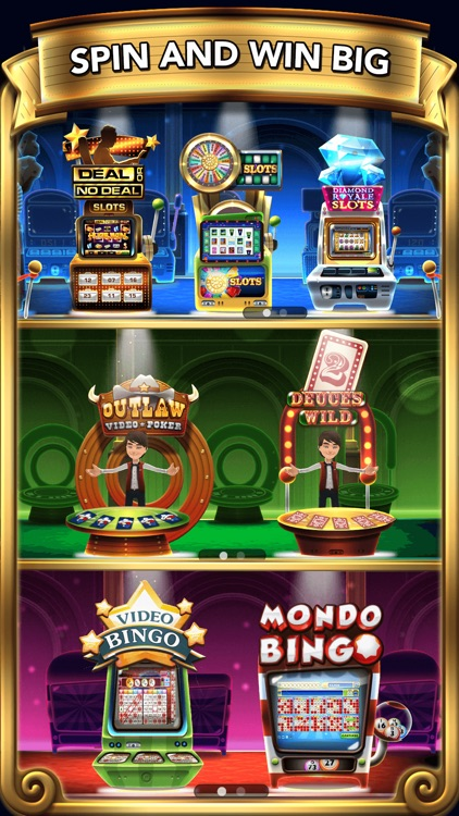 GSN Grand Casino - Play Free Slots, Bingo, Video Poker and more! screenshot-3
