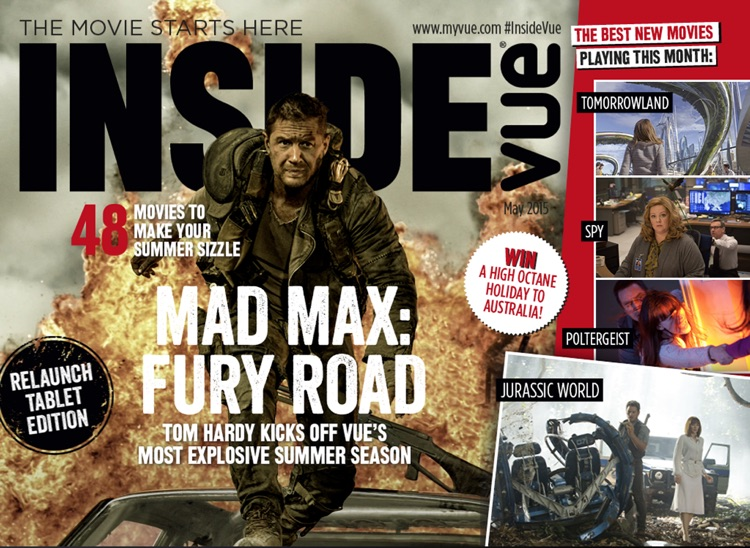 Inside Vue Magazine – for all of the latest news, reviews and interviews from your favourite cinema