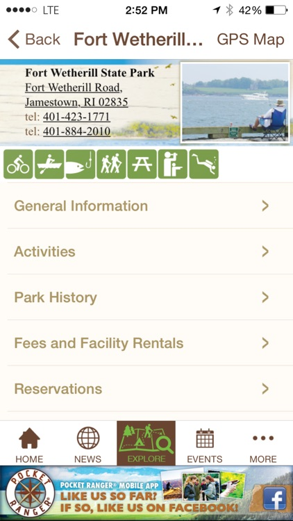 Rhode Island State Parks Guide- Pocket Ranger® screenshot-4