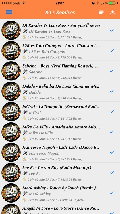 My Songs - MP3 Player (No Sync with iTunes) screenshot-4