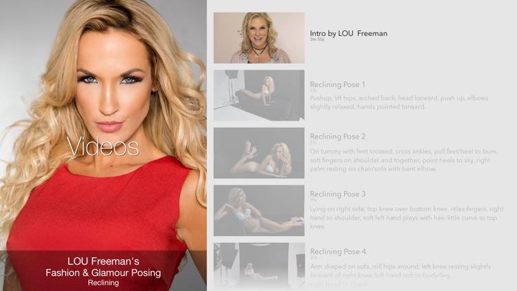 LOU Freeman - Fashion & Glamour Posing - Reclining