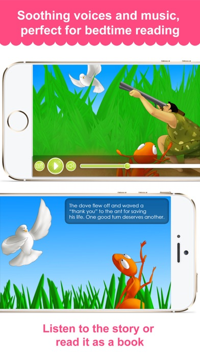 The Ant And The Dove - Narrated classic fairy tales and stories for childrenScreenshot of 2