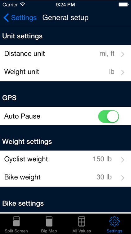 B.iCycle - GPS cycling computer for Road & Mountain Biking screenshot-4