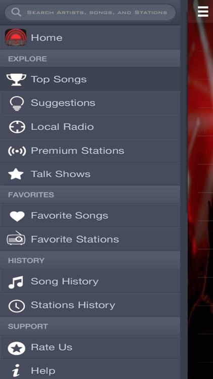 JukeBox: On-Demand Songs & Talk Shows