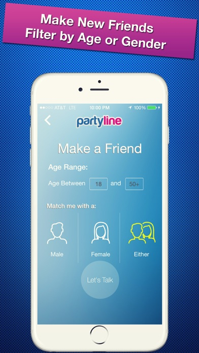 PartyLine Voice Chat, Meet Friends, New People - Revenue