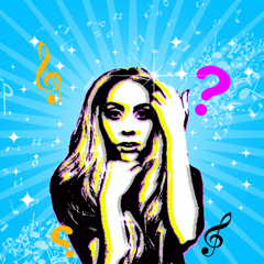 Song Quiz, Guess The Reverse Song Game: Gaga Edition