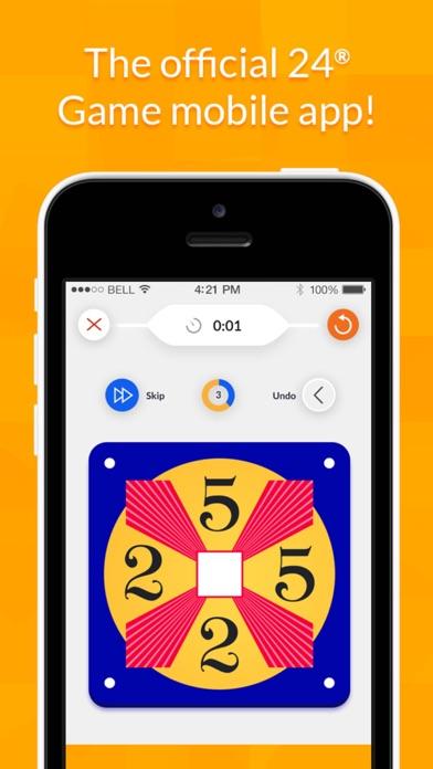 24 Game – Math Card Puzzle Screenshot