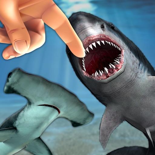 Shark Fingers! 3D Interactive Aquarium
