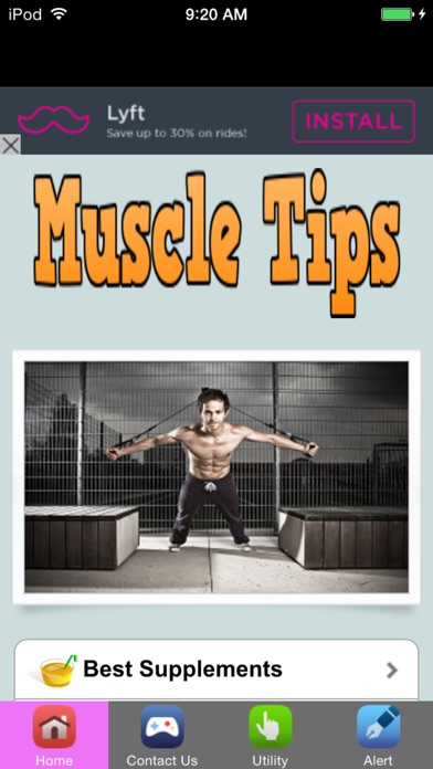 download Free Body Building Tips apps 1
