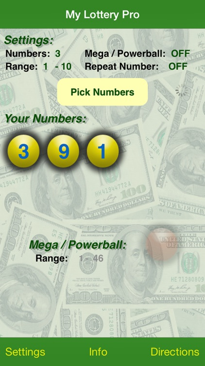 My Lottery Pro screenshot-1