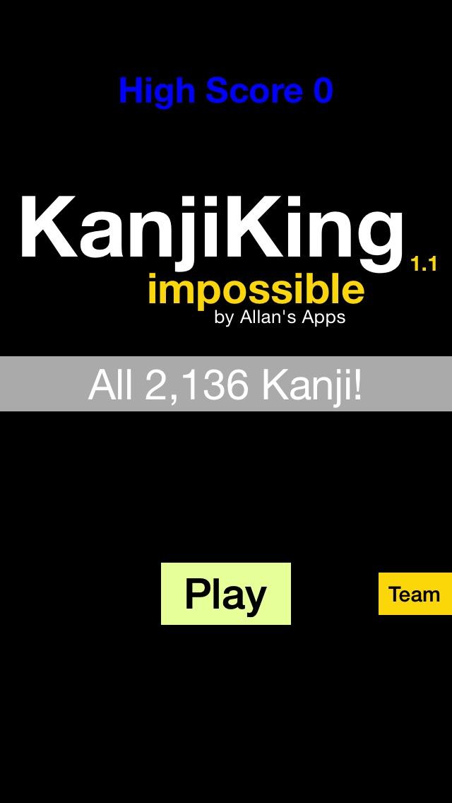 KanjiKing Impossible screenshot1