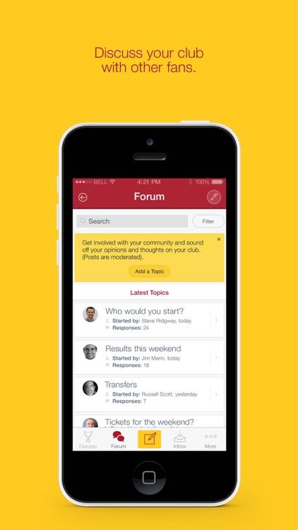 Fan App for Motherwell FC