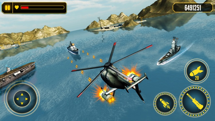 Helicopter Battle Combat 3D