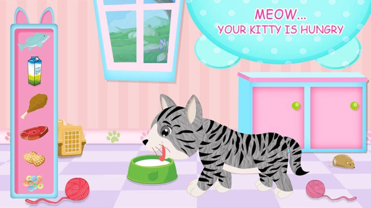 Kitty Cat Love - Pets Care screenshot-3