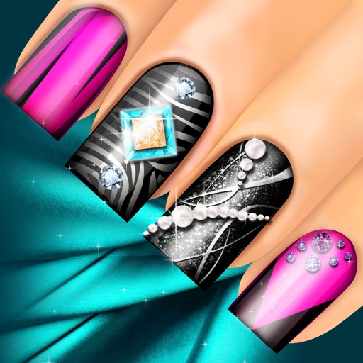 Nail Girl Games: 3D Nail Salon: Fancy Nails Spa Game For Girls To Make Cute