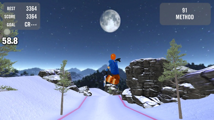 Crazy Snowboard Free screenshot-1