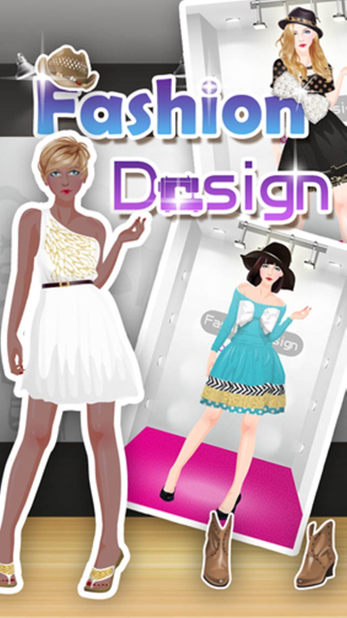 Fashion Design & Dress up - girls games Screenshot