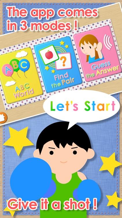Listen!Touch!ABC for Kids screenshot-3