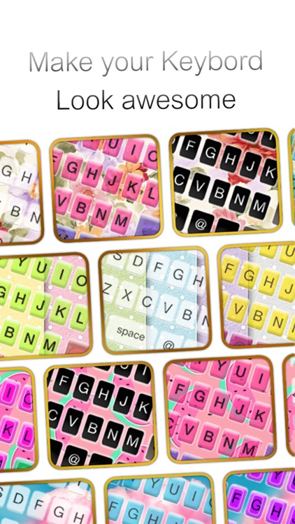 Custom Keyboard Pastel : Cute Color & Wallpaper Themes