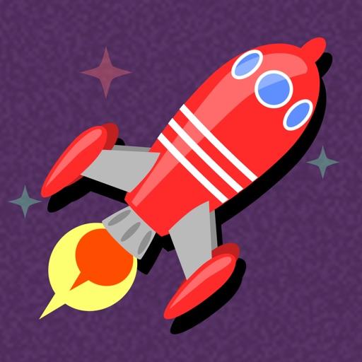 宇宙探検ロケット