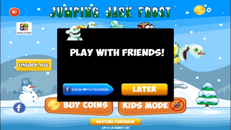 Jumping Jack Frost