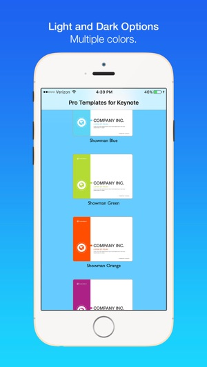 Pro Templates for Keynote on the App Store