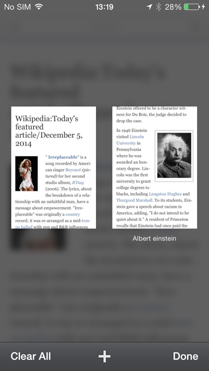 Reader for Wikipedia