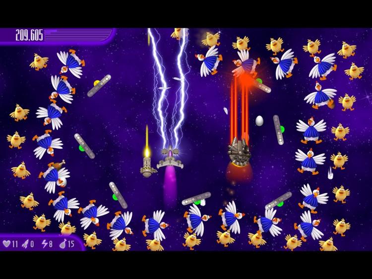 Chicken Invaders 4 HD screenshot-3