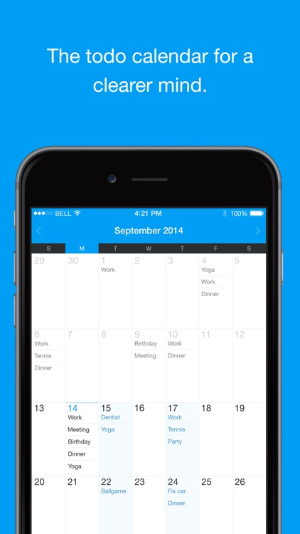 QuickNote Calendar - Easy Daily Todo List Task Manager (Free Version)