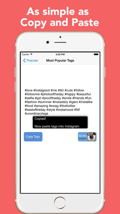 Unordinary Tags - Copy and Paste Tags for Instagram screenshot-3