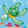 アクティブ! 子供のためのサイズのゲームで並べ替え学び、海洋動物と遊ぶ