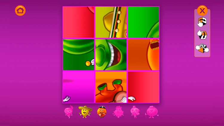 Merry Cubes HD - 3d cube fruit puzzles to develop fine motor skills screenshot-3