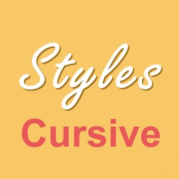 Cursive Writing Styles