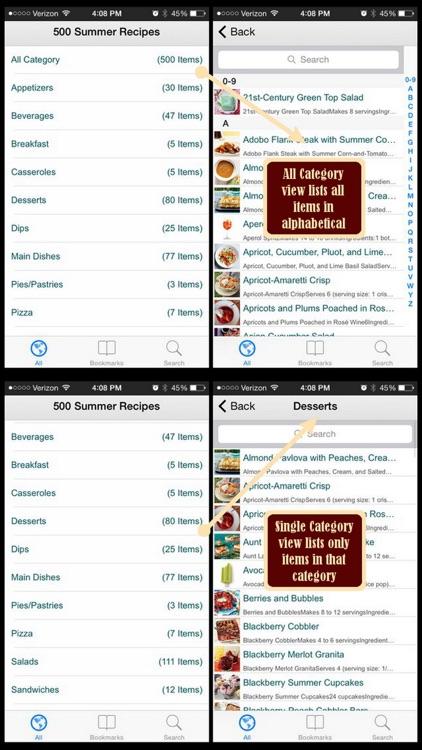 500 Summer Recipes screenshot-3