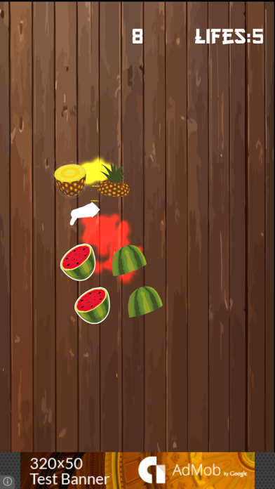 Fruit Swipe Slice Free screenshot two