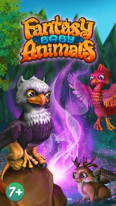 Fantasy Baby Animals FREECaptura de pantalla de1