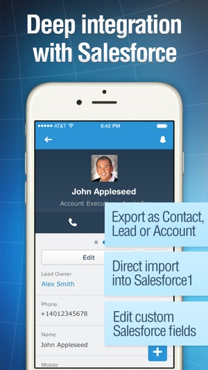 Business card reader pro on the app store reheart Image collections