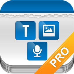 Tri Note Pro - Text, Photo, Voice in one note