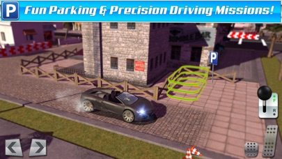 Screenshot from Classic Sports Car Parking Game Real Driving Test Run Racing