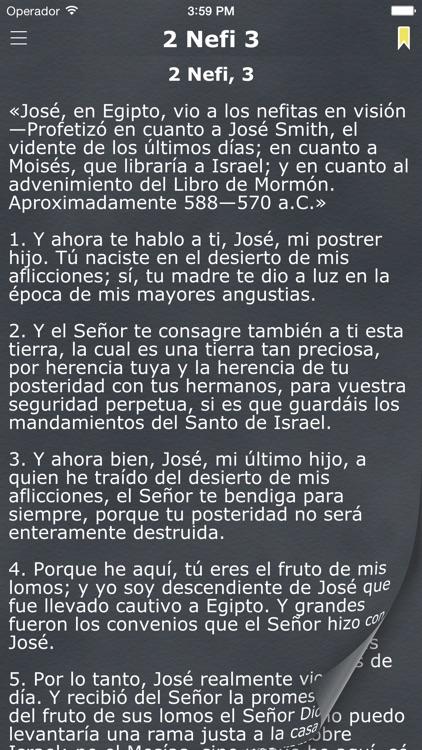 El Libro de Mormón (The Book of Mormon in Spanish) screenshot-3