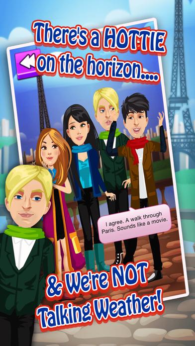 My Teen Life High School Paris Adventure Episode Story - Challenging Interactive Gossip Game FREE Screenshot on iOS