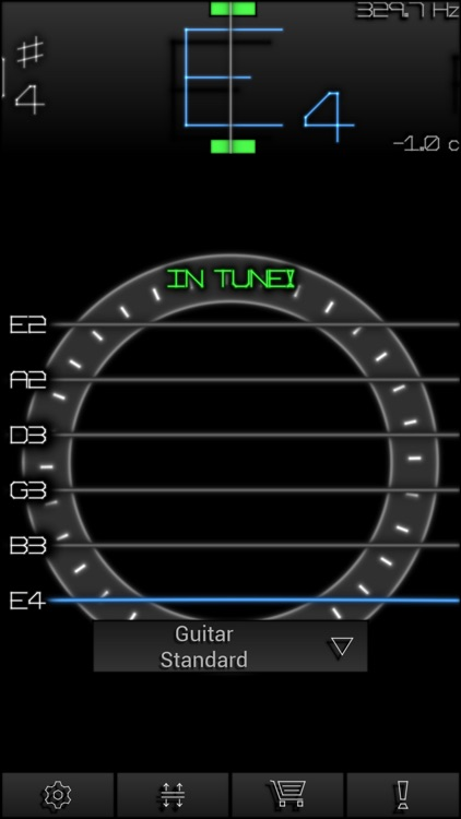 PitchLab Guitar Tuner (FREE) screenshot-0
