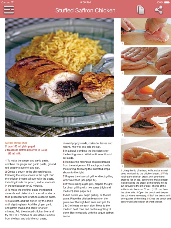 Asian Barbecue Cookbook for iPad screenshot-1