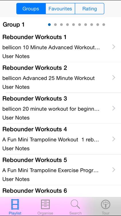 Rebounder Workouts