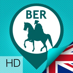 Berlin Guide: History multimedia Sightseeing Tour, GPS triggered video and audioguide, Offline City Map-HD