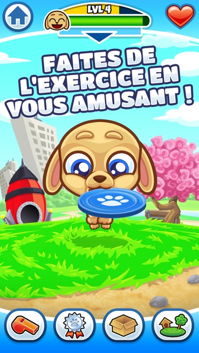 Screenshot #1 pour Max - My Fitness Dog