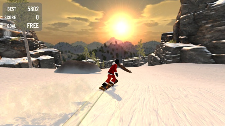 Crazy Snowboard Pro screenshot-0