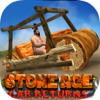 Free 3D Car Racing Games - Stone Age Car Returns artwork