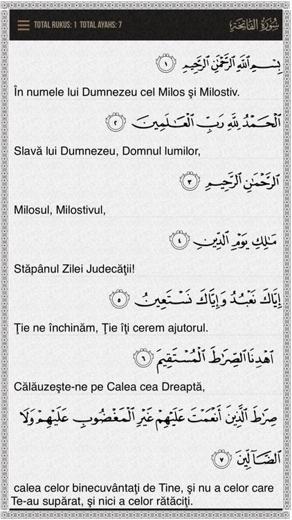 Quran Romanian