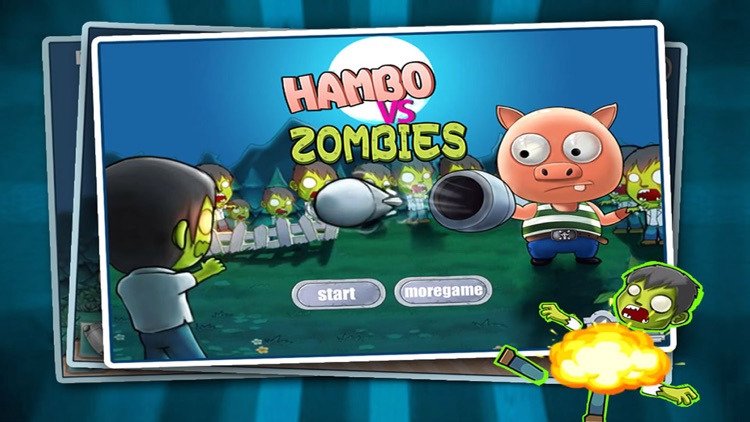 Hambo vs Zombie screenshot-0